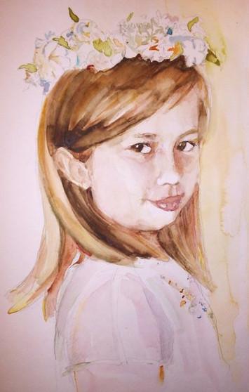 First communion Portrait- Liesl
