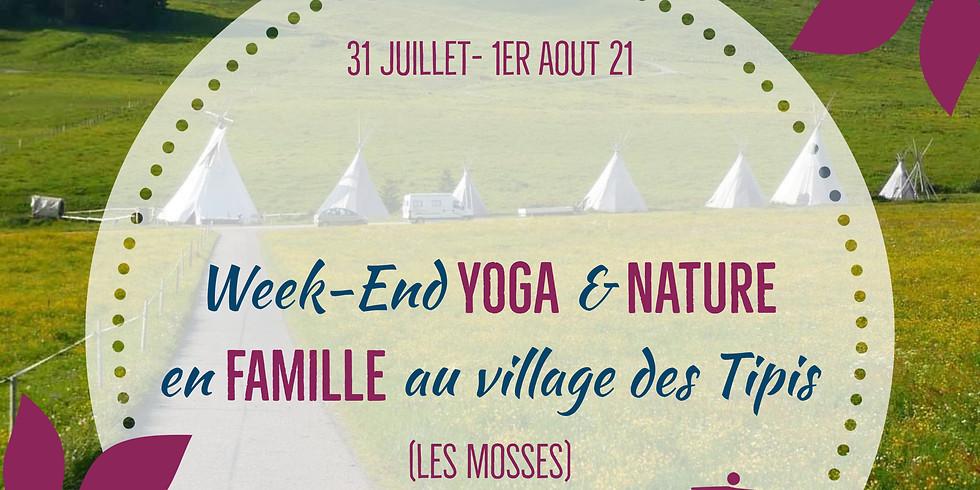 Week-end YOGA & Nature en Famille