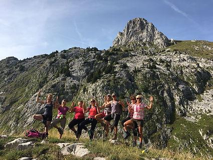 Magnifique week-end Yoga & Randonnée au Grammont