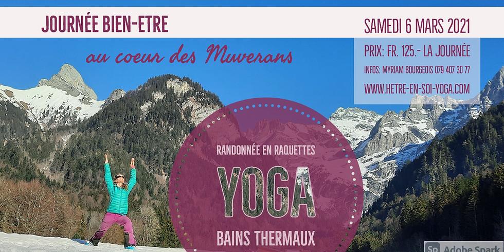 Journée YOGA - Raquettes - Bains thermaux extérieurs