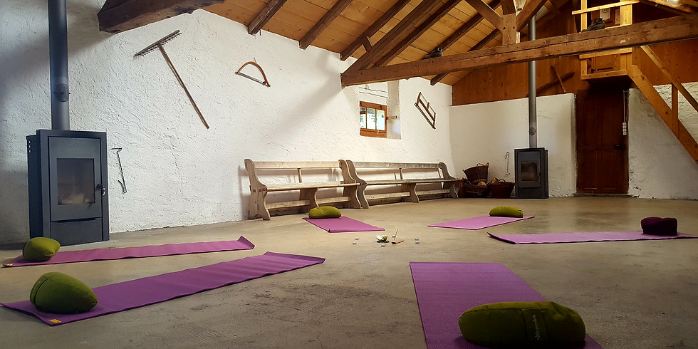 """Week-End """"Nature & Yoga"""" FAMILLE"""