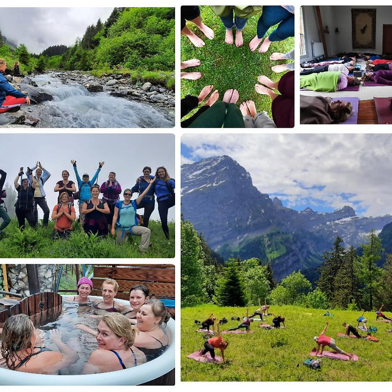 Week-End Yoga - Rando & bains thermaux