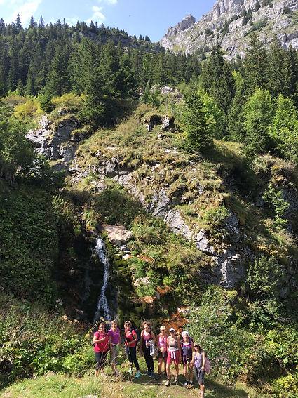 Yoga et Randonnée à la montagne