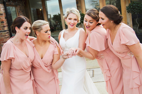 Kelly & her Bridesmaids