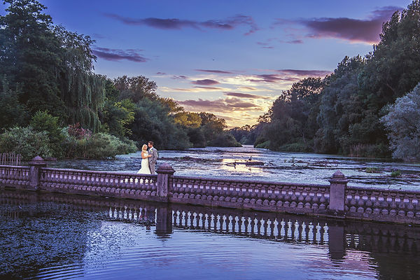 Beautiful Sunset at Coombe Abbey Hotel, Wedding Photography