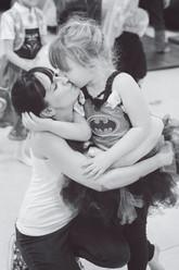 Mummy Daughter moment