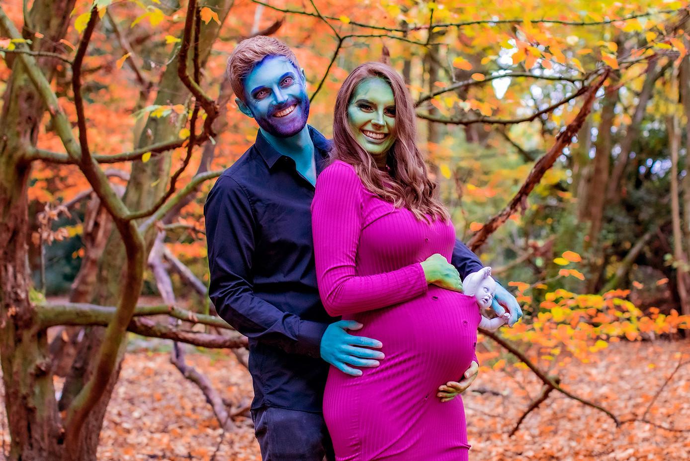 Halloween Baby Bump