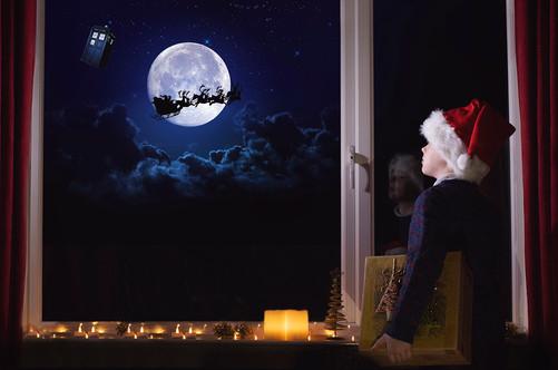 Dr Who & Santa