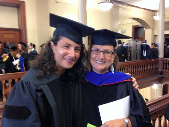 Time to become Dr. Eleftheriou! Thank you, Dr. Elaine Lawless!