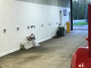 Equipment Moving into Building 2