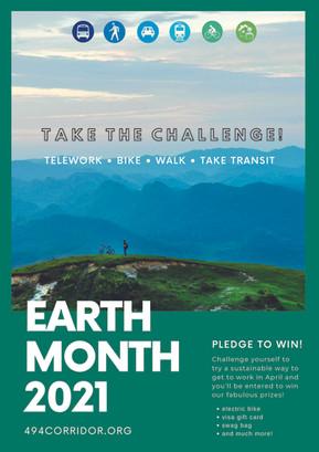 Earth Month 2021 campaign design