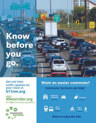 Know Before You Go campaign poster