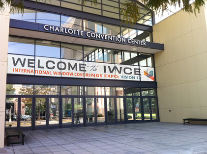 IWCE convention center signage
