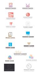 WFCP logo design process: initial mockups