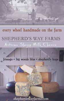 Shepherd's Way Farms print ad
