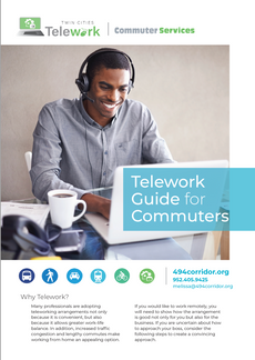 Create employer and teleworker handouts and print materials
