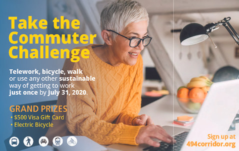 Create Commuter Challenge campaign and graphics