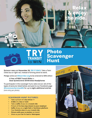 Create Try Transit campaign and materials