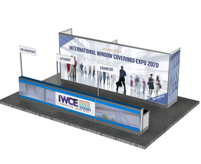 IWCE 2020 show signage and displays