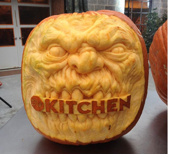 What happens when Manic Pumpkin Carvers take on logos?