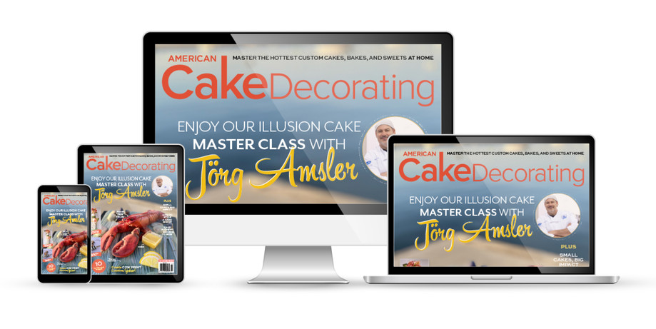 American Cake Decorating design and layout 2020