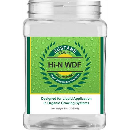 Suståne organic fertilizer package design