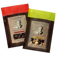 Mocha Magic branding and package design