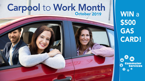Create Carpool to Work Month 2019 campaign and materials