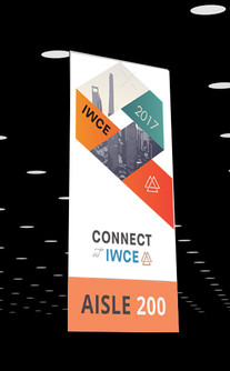 IWCE 2017 aisle signs