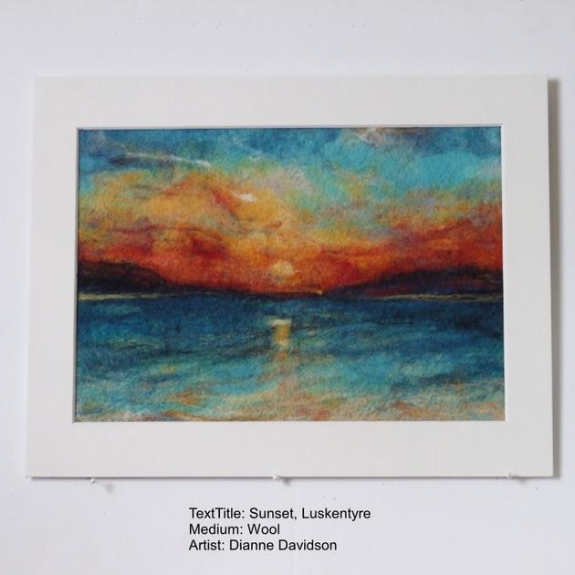 Sunset Luskentyre