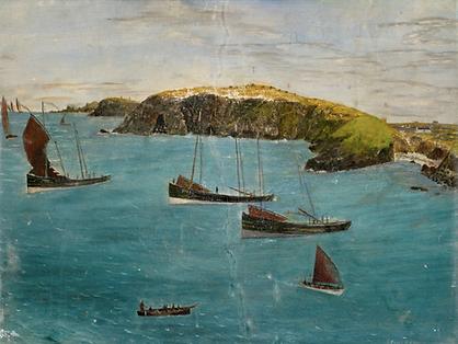 6. Angus Morrison Fishing Boats near Nes