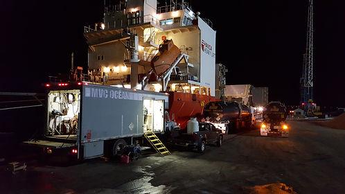 Port de Trois-Rivieres, MVC ocean