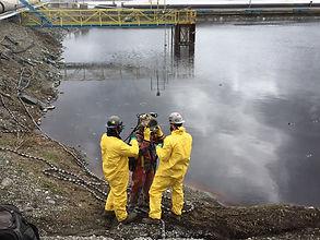 travaux en milieux contaminés, MVC océan