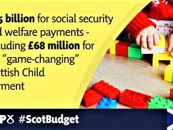 SNP Budget delivers £3.5 billion for Low-income Families