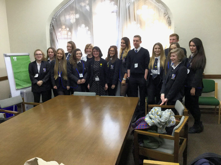 Largs Academy Visit to Westminster
