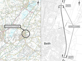 A737 Resurfacing East of Beith