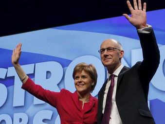 "Strong SNP Government to ""Keep Scotland Moving Forward"""
