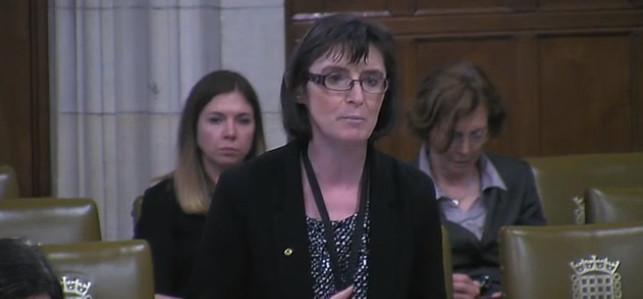 Patricia Speaks in Children's Homes Debate