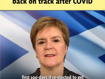 SNP's 100 Day Plan to Protect Scotland and Kickstart Recovery