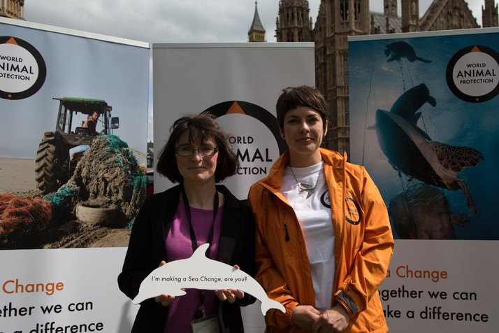 Patricia supports Sea Change for Marine Animals