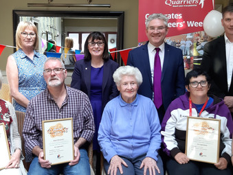 Quarriers Dementia Befriending Service Volunteer Awards