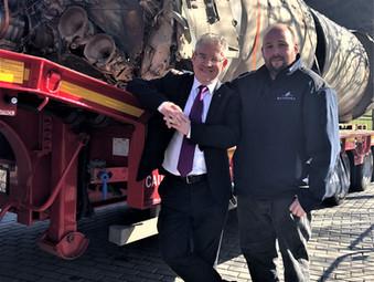 Black Arrow Rocket at Scottish Parliament
