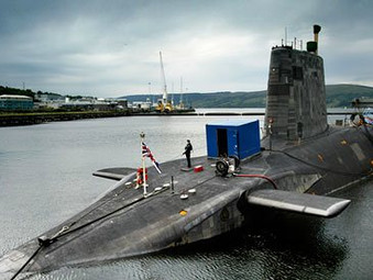 Workers at Faslane Exposed to Radiation