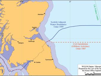 Motion: Scottish Adjacent Waters Boundaries Order 1999