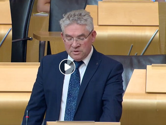 Kenneth Gibson MSP Speaks in Foster Care Debate