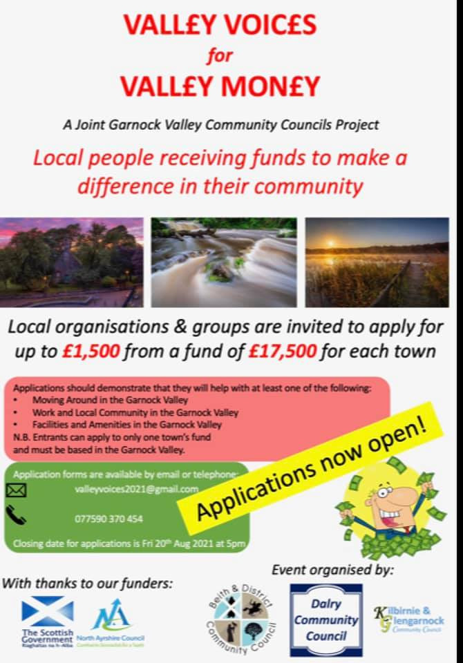 VALLEY VOICES FUND - APPLY NOW!