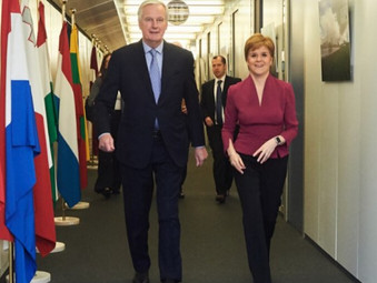 First Minister Strengthens Scotland's Ties with European Union