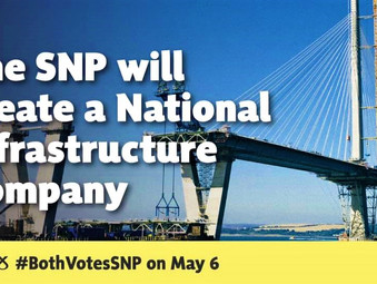 SNP Government's National Infrastructure Mission will Invest £33,000 million