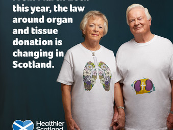 Awareness Campaign around Organ and Tissue Donation Law Change