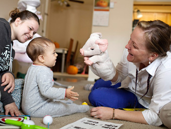 Thousands of Young Mums and Babies Benefit From Family Nurse Partnership